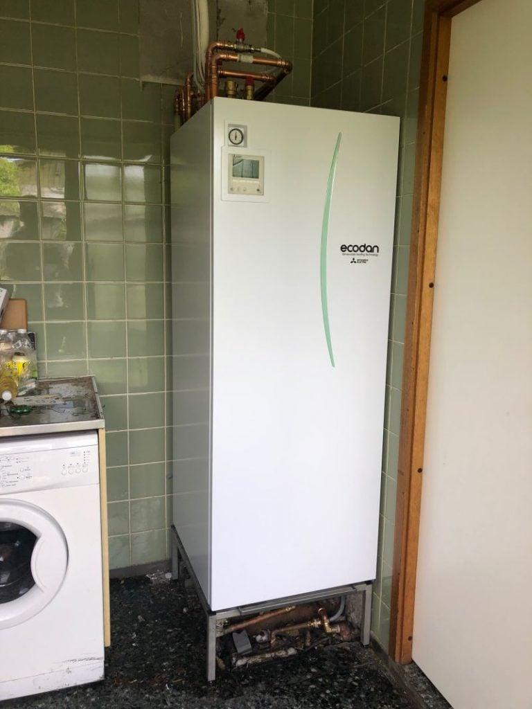 Luft til vand varmepumpe fra Dansk Varme
