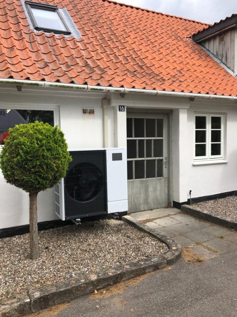 Jesper Koch fin en ny luft til vand-varmepumpe