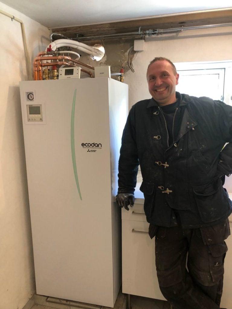 Skift til Ecodan varmepumpe