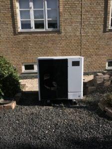 Udedelen til Ecodan varmepumpe
