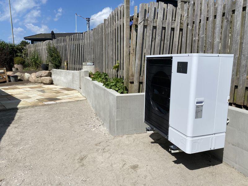 Installation af varmepumper i sommerhuse